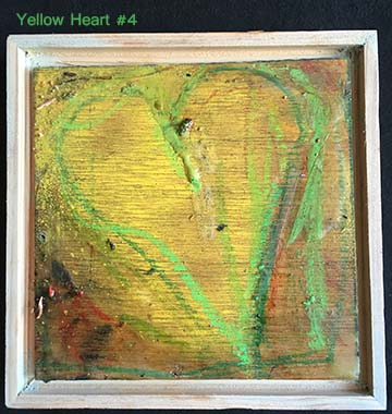 Yellow Heart #4