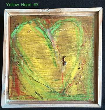 Yellow Heart #5