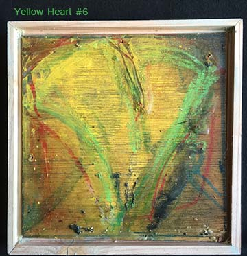 Yellow Heart #6